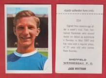 Sheffield Wednesday Jack Whitham 224
